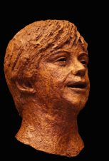 jongen in brons
