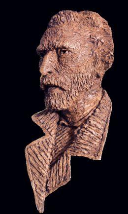 Kop van Vincent van Gogh