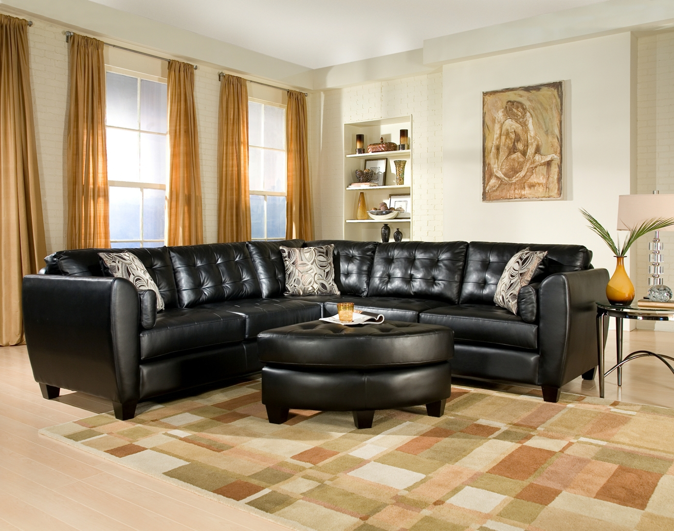 Sectional Small Living Room