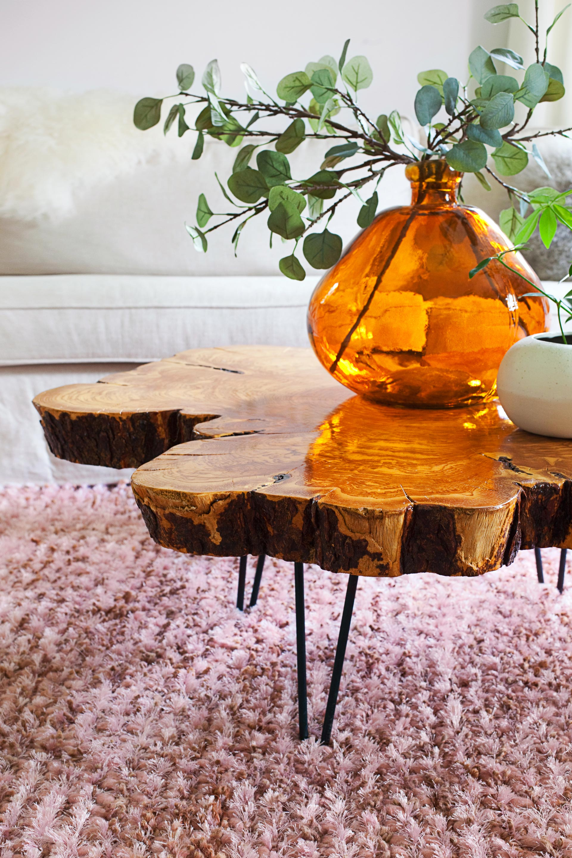 Raw Edge Coffee Table Furniture Roy Home Design