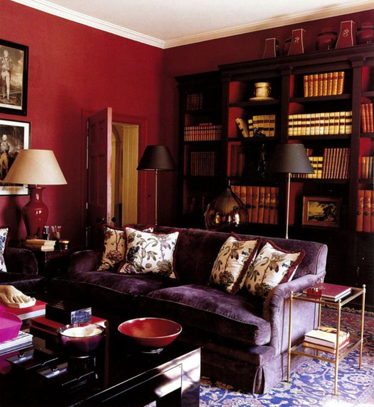 Living Color Brown Schemes Room Furniture