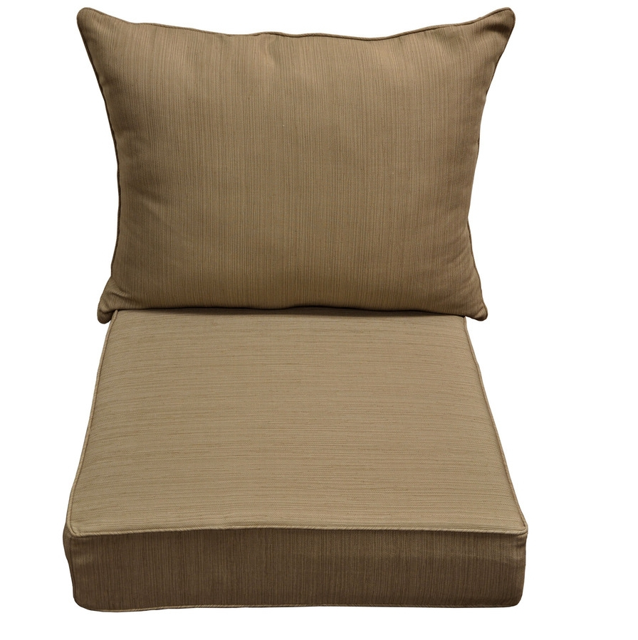 Deep Seating Replacement Cushions For Outdoor Furniture For Perfect Patio Decorations Roy Home