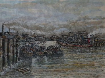 newcastle Docks