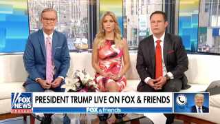 Donald Trump ve Fox and Friends