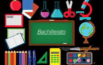 Nueva distribución de subgrupos Bachillerato
