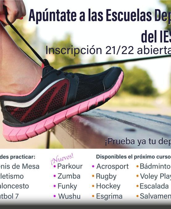 Escuelas deportivas del IES Las Rozas I