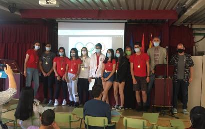 Acto de Reconocimiento a la Participación en las Escuelas Deportivas del IES. Las Rozas I
