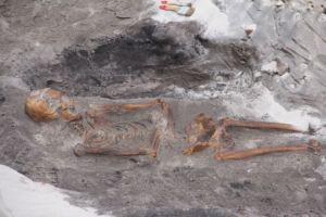 Średniowieczne miasto odkryto w Łebie; Fot. UM Łeba