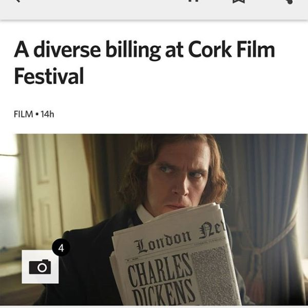 Cork Film Festival 2017.Looking forward to this next weekend. #corkfilmfest