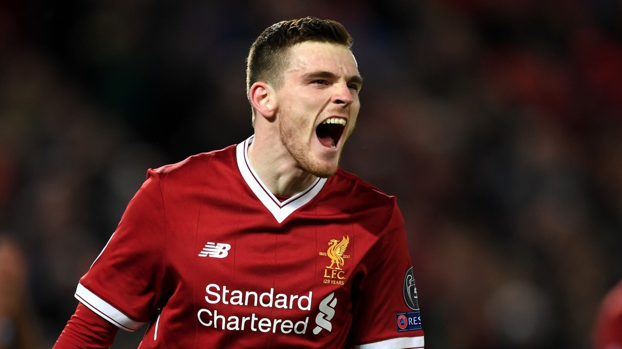 Andy Robertson Could Be Involved In Some Spicy Action