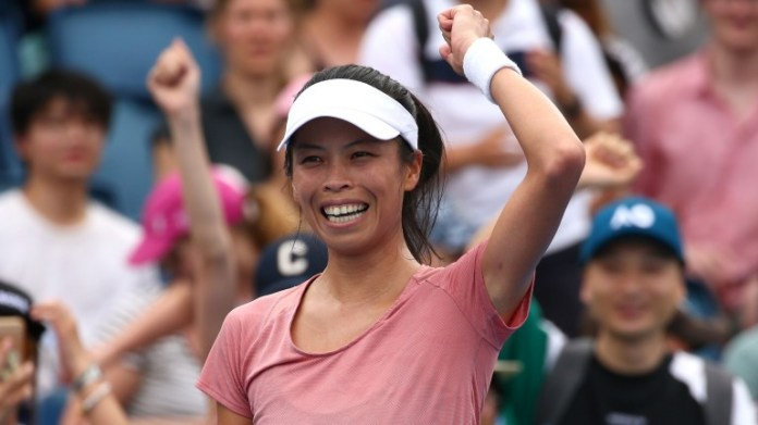 Su-Wei Hsieh could have plenty to celebrate on her return to Japan