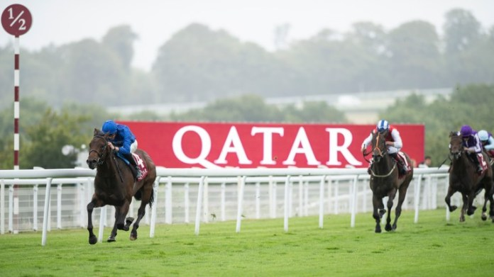 Pinatubo: romping home at Goodwood last time