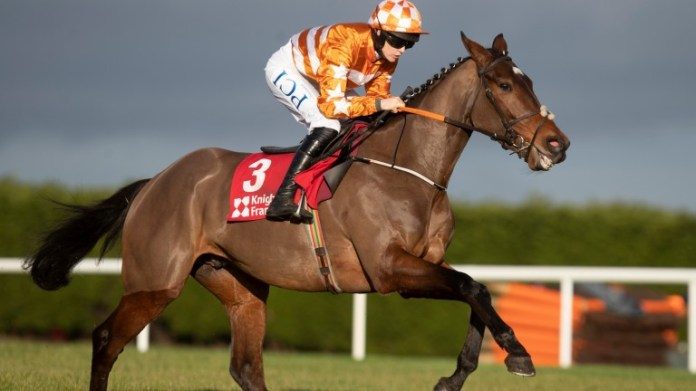 Aspire Tower will be a short-priced favourite to extend his unbeaten hurdles record next week