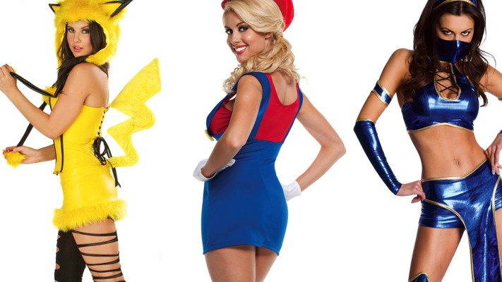 Halloween Video Game Costumes.Sexy Videogame Halloween Costumes Rpad Tv