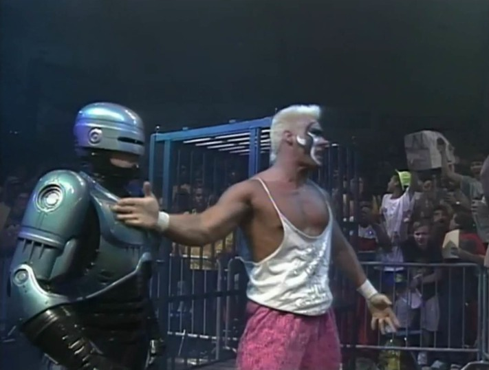WWE Network Robocop Sting