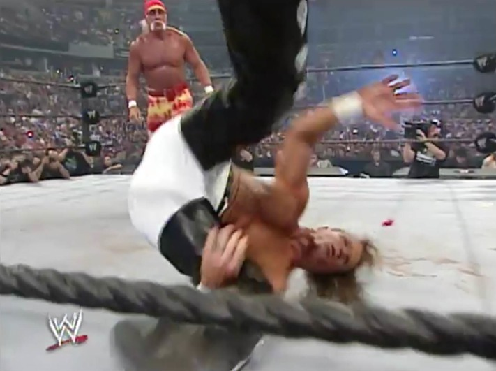WWE Network Shawn Bump SummerSlam 2005