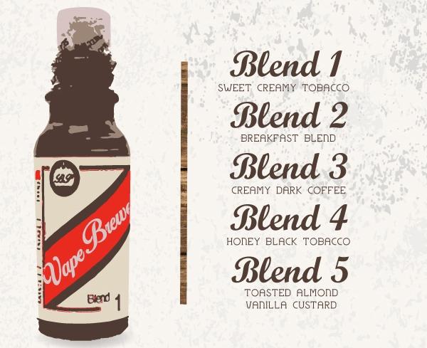 Vape Brewery menu