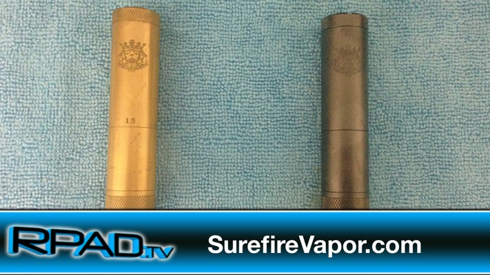 Best Mod of 2014 Nickel Plated Brass King Mod