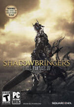Cover of the MMORPG Final Fantasy XIV Shadowbringers for PC