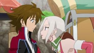 Tales of Hearts R innehåller flera tjusiga animesekvenser, något som inte fanns i DS-versionen.