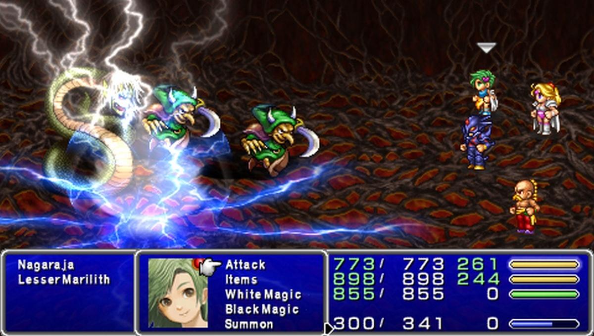 Fiche Dtaille Du RPG Final Fantasy IV The Complete