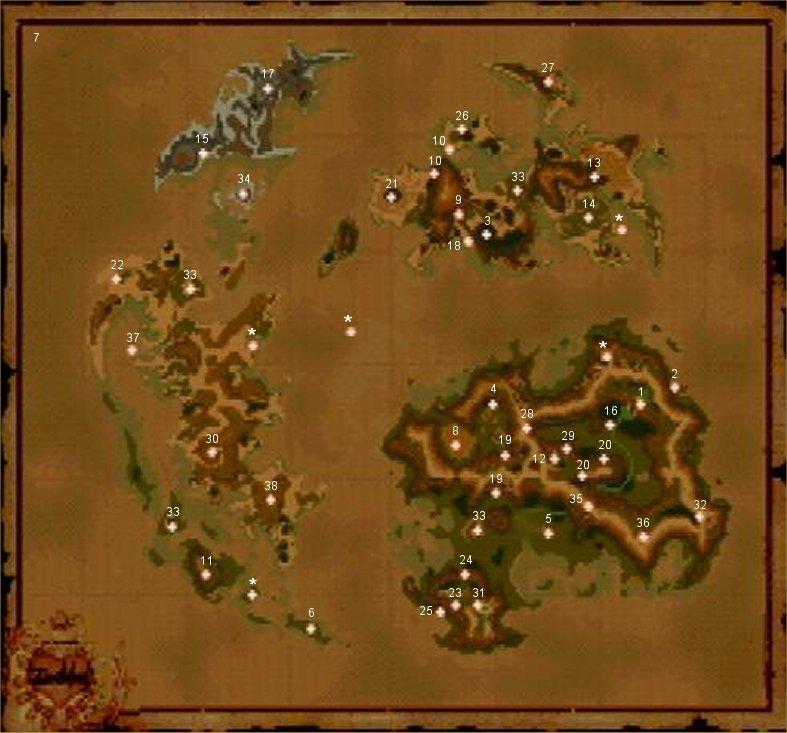 Final Fantasy IX World Map