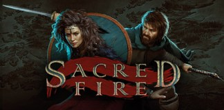 Sacred fire logo
