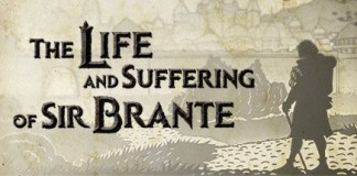 The life of suffering of sir Brante logo