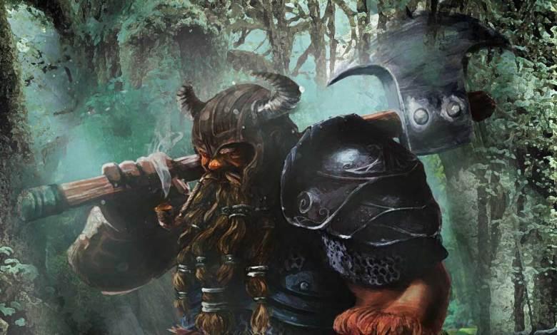 Klank, o velho guerreiro anão - Imagem do Tarrasque na Bota 19 - A mina perdida de Phandelver - Episódio 19 - O passado de Klank