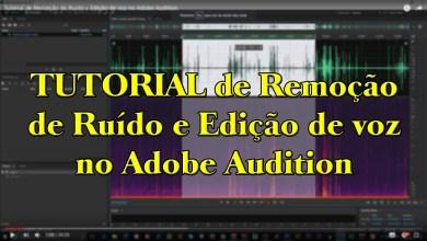 Tutorial de Remoção de Ruído e Edição de voz no Adobe Audition