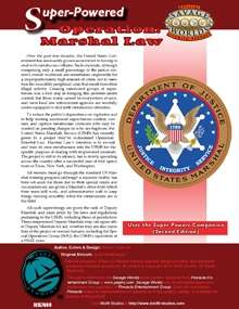 Savage Worlds Super-Powered: Operation Marshal Law