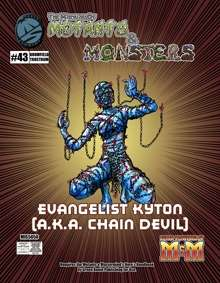The Manual of Mutants & Monsters: Evangelist Kytons