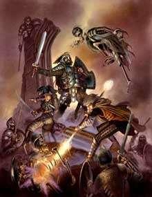 The Art of Eric Lofgren: Battle against the Undead