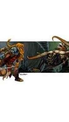 The Art of Eric Lofgren Hook Horror versus Dwarf