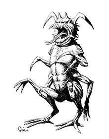 Earl Geier Presents: Monster Insectoid