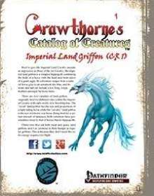 Crawthorne's Catalog of Creatures: Imperial Land Griffon for the Pathfinder RPG