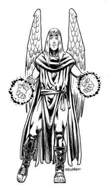 The Art of Eric Lofgren Angel Attack