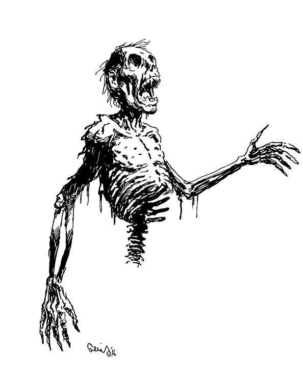Earl Geier Presents: Half Skeleton