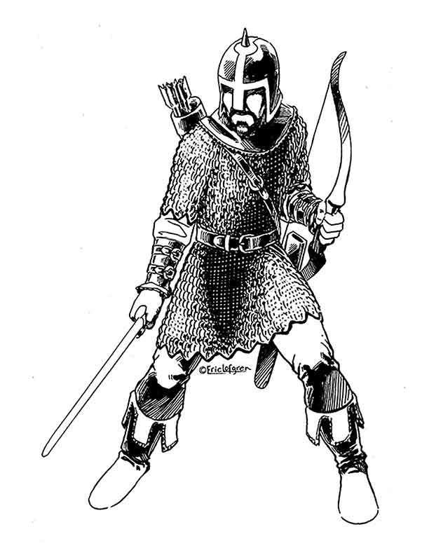The Art of Eric Lofgren Human Archer