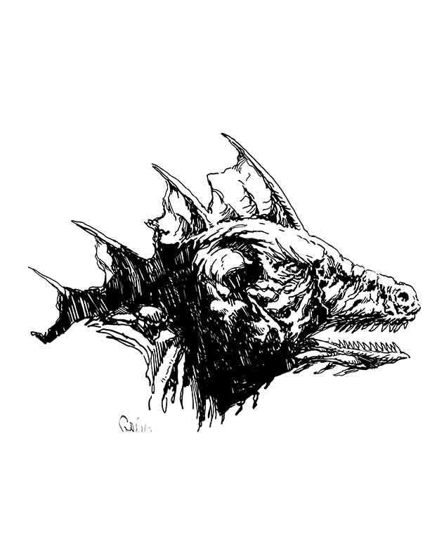 Earl Geier Presents: Dragon Man Head