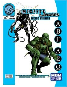M&M Superlink Misfits & Menaces: Mixed Villains