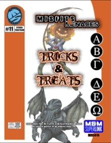 M&M Superlink Misfits & Menaces: Tricks & Treats