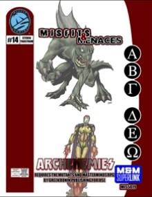M&M Superlink Misfits & Menaces: Archenemies