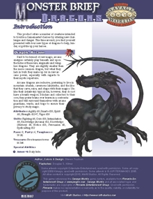 Monster Brief: Dragons