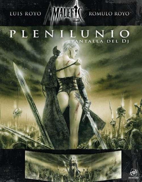 L'écran du meneur de Plenilunio (en version espagnole)