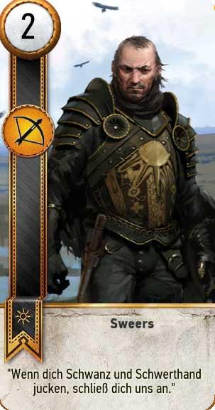 gwint karten nilfgaard the witcher