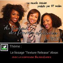 Le nouveau système de lissage « texture release » Avlon sur cheveux naturels