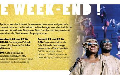 Amadou et Mariam parrainent la commémoration de l'abolition de l'esclavage à l'Ile saint Denis