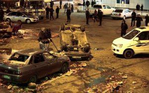 Des images de la revoltes des banlieues