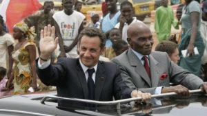 Ls président Abdoulaye WADE et Nicolas SARKOZY